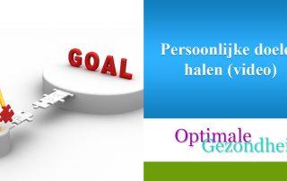 Persoonlijke doelen halen (video)
