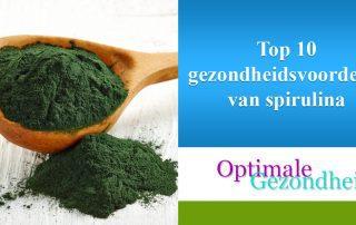 Top 10 gezondheidsvoordelen van spirulina