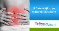 8 Natuurlijke tips tegen buikkrampen