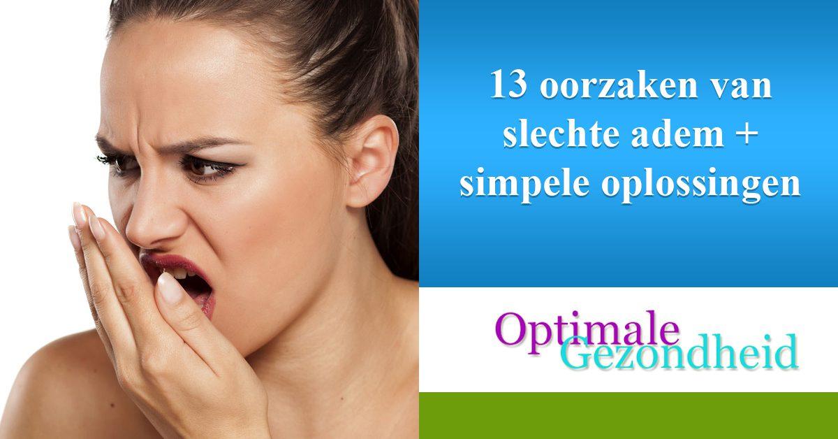 13 oorzaken van slechte adem + simpele oplossingen