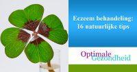 Eczeem behandeling 16 natuurlijke tips