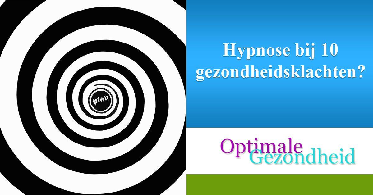 Hypnose bij 10 gezondheidsklachten