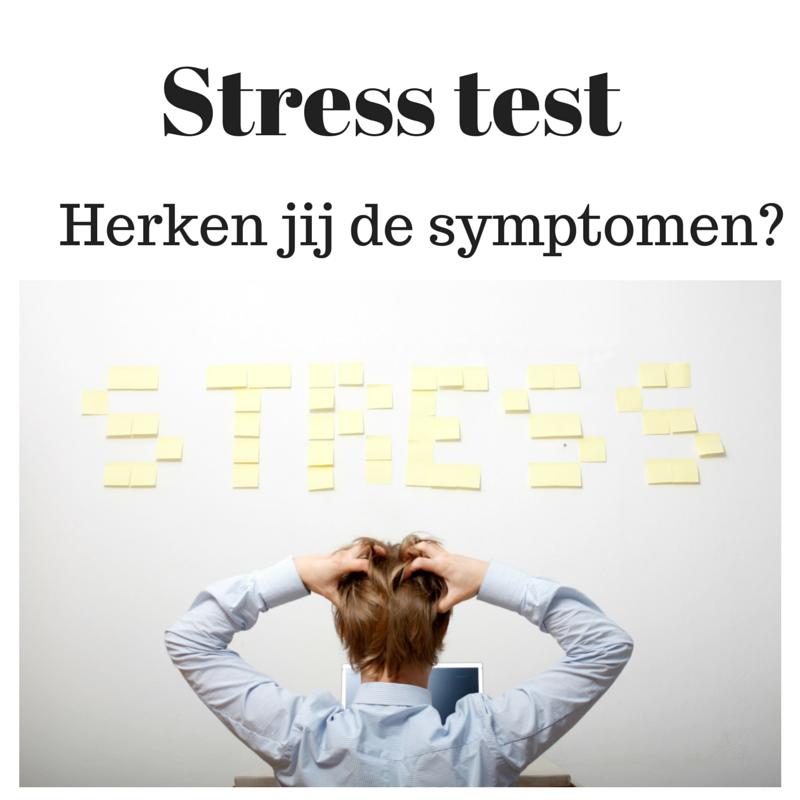 Stress Test Anxiety: Stress Test: Herken De Stress Symptomen