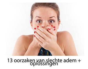 oorzaken slechte adem