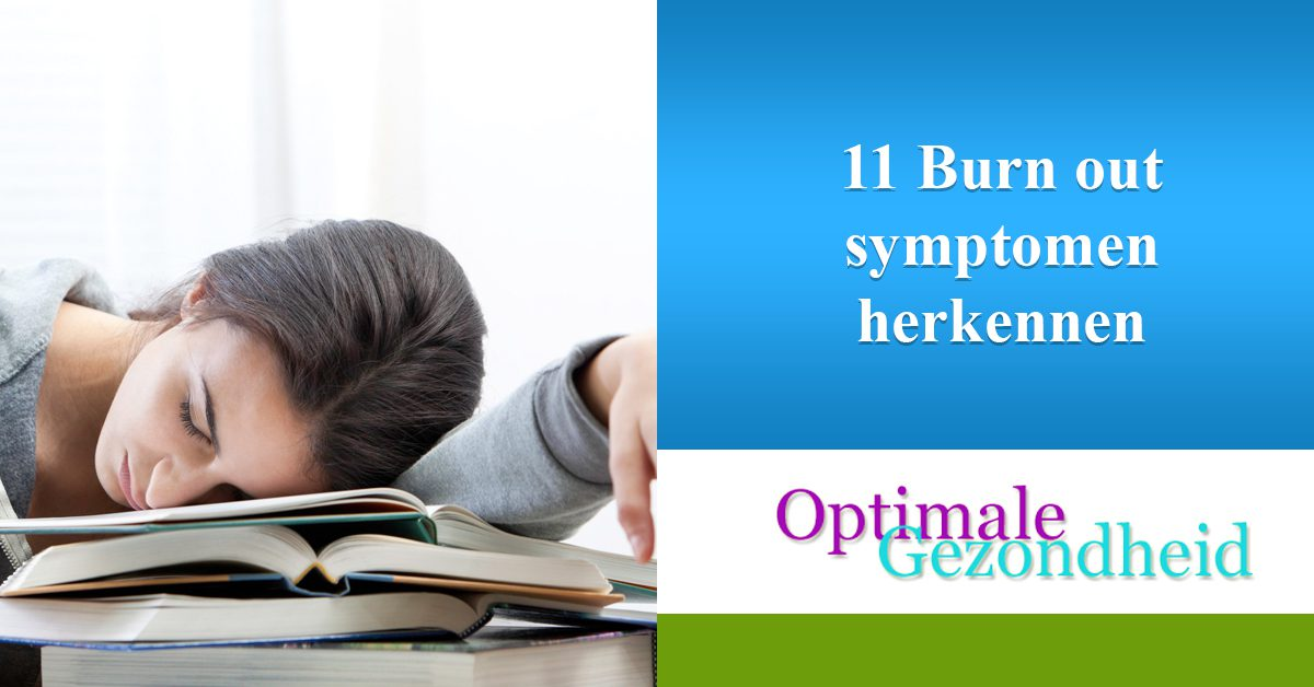 11 Burn out symptomen herkennen