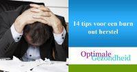 14 tips voor een burn out herstel