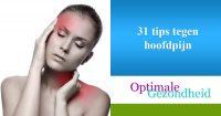31 tips tegen hoofdpijn