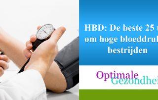 De beste 25 tips om hoge bloeddruk te bestrijden