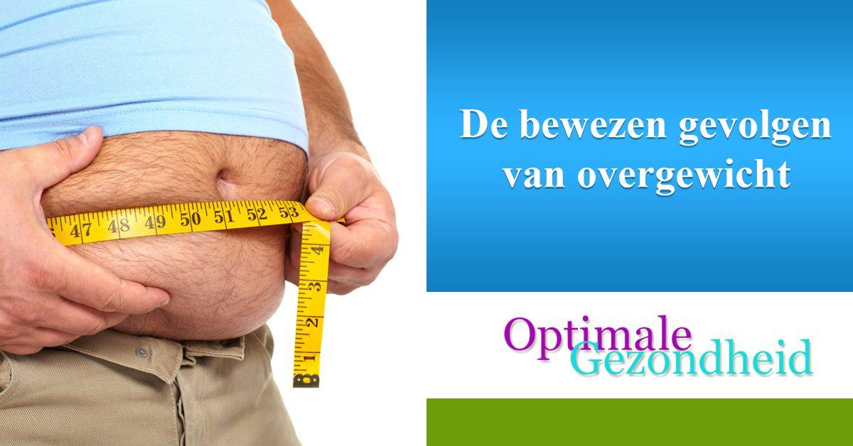 De bewezen gevolgen van overgewicht