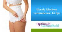 Hernia klachten verminderen-13tips