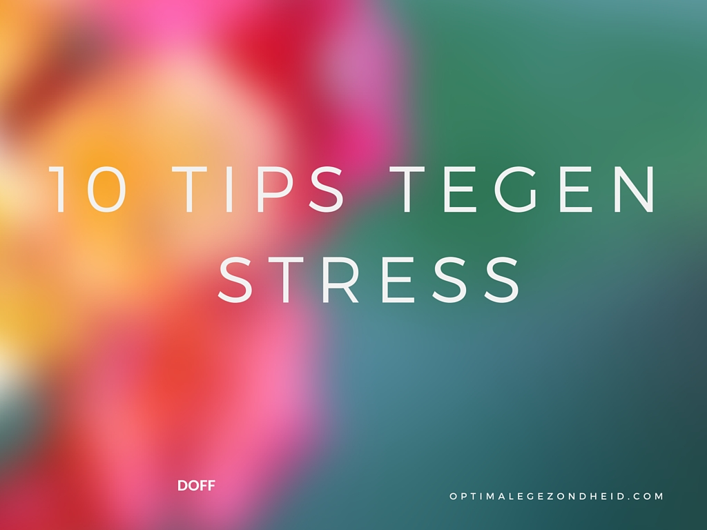 stress tips