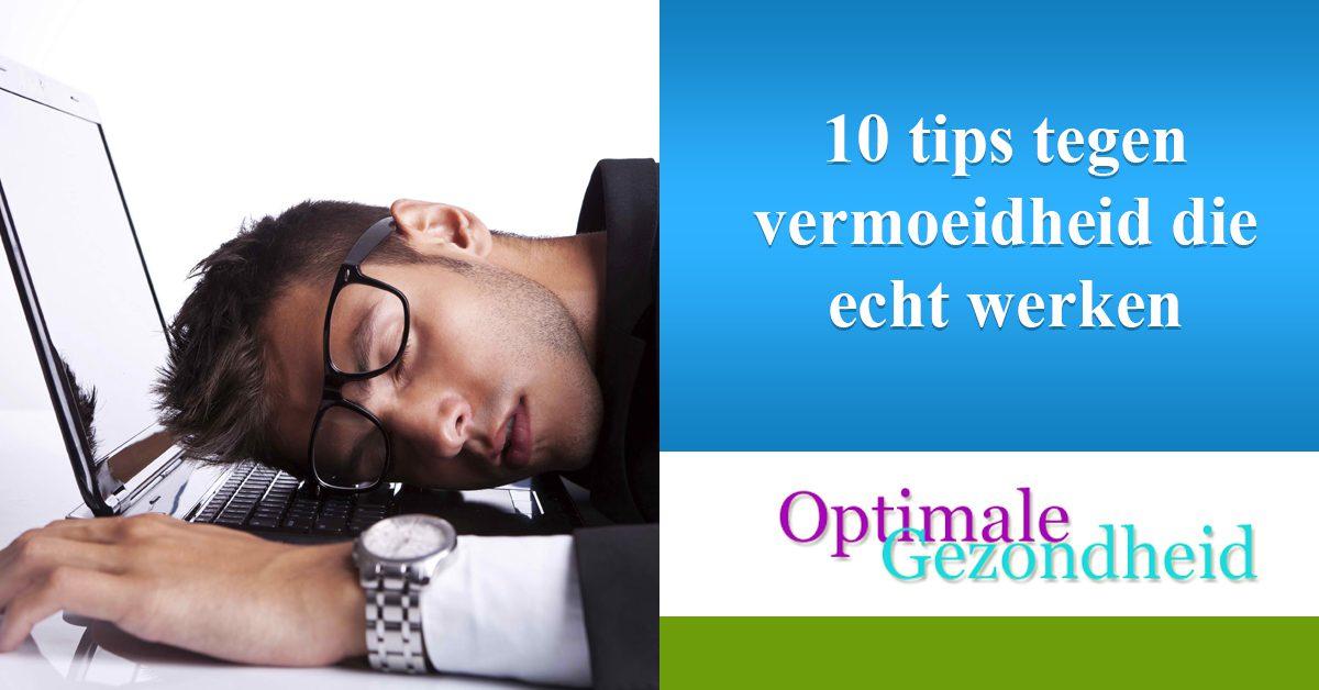 10 tips tegen vermoeidheid die echt werken