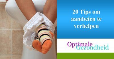20 Tips om aambeien te verhelpen