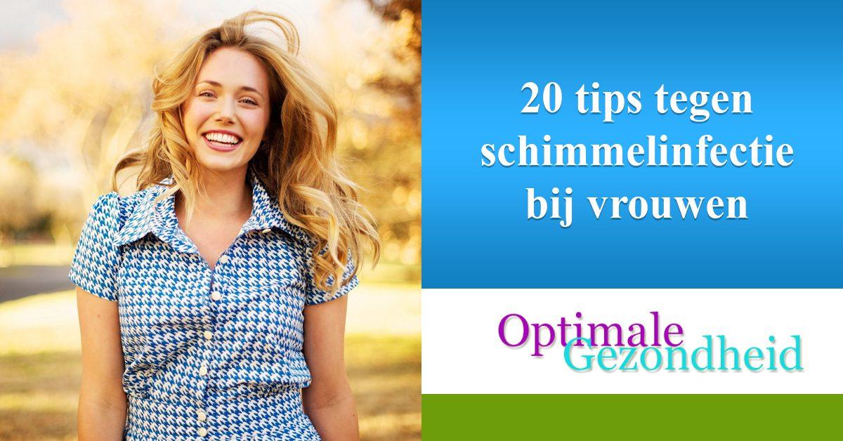 20 tips tegen schimmelinfectie bij vrouwen