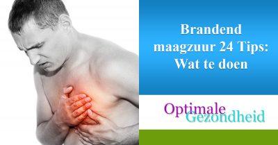 Brandend maagzuur 24 Tips Wat te doen