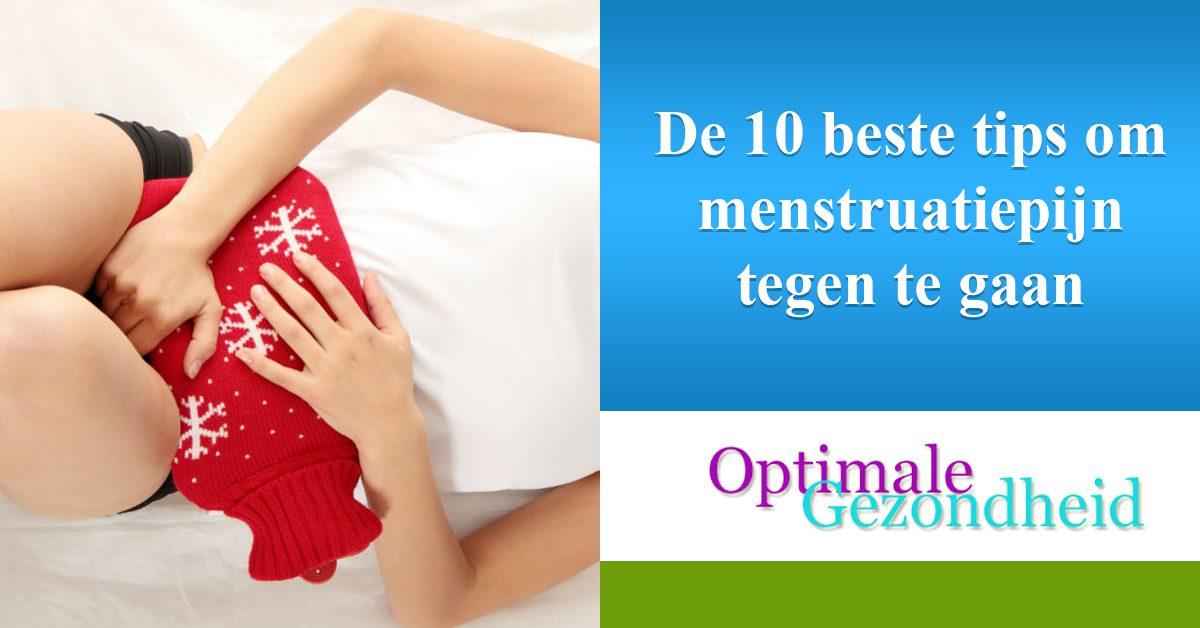 De 10 beste tips om menstruatiepijn tegen te gaan
