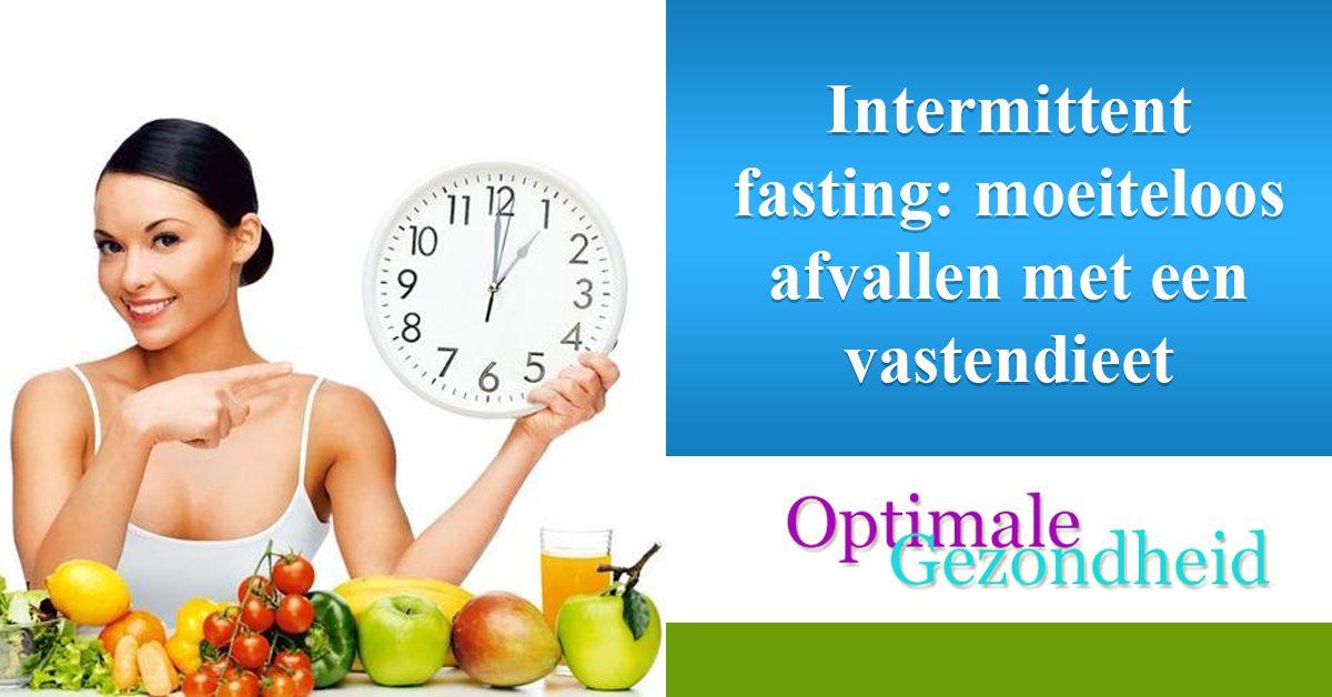 Intermittent fasting moeiteloos afvallen met een vastendieet