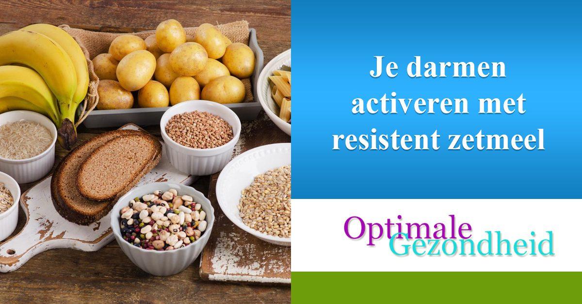 Je darmen activeren met resistent zetmeel