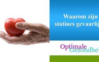 Waarom zijn statines gevaarlijk