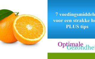 7 voedingsmiddelen voor een strakke huid PLUS tips
