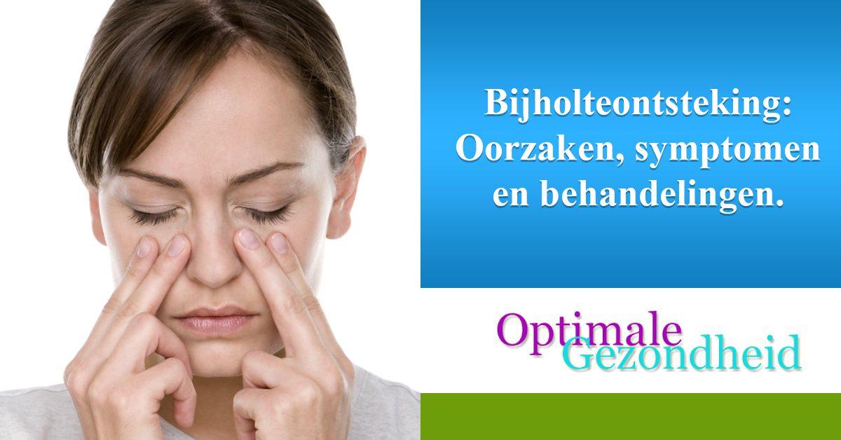 Bijholteontsteking Oorzaken, symptomen en behandelingen.