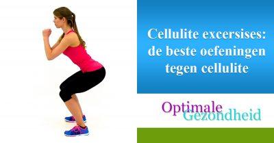 Cellulite excersises de beste oefeningen tegen cellulite