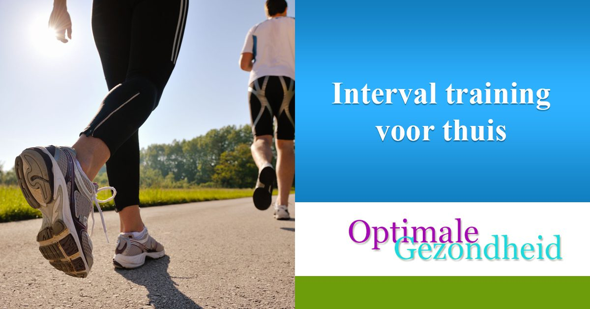 Interval training voor thuis