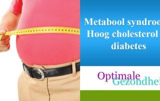 Metabool syndroom Hoog cholesterol en diabetes