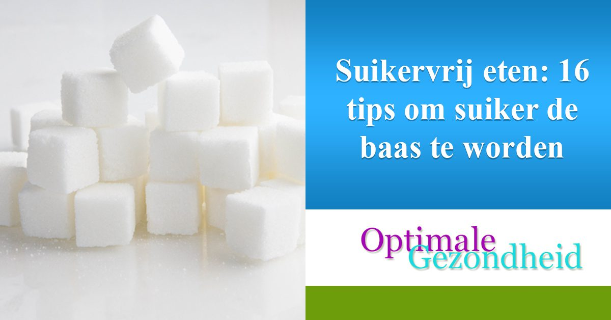 suikervrij dieet