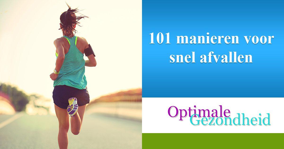 101 manieren voor snel afvallen