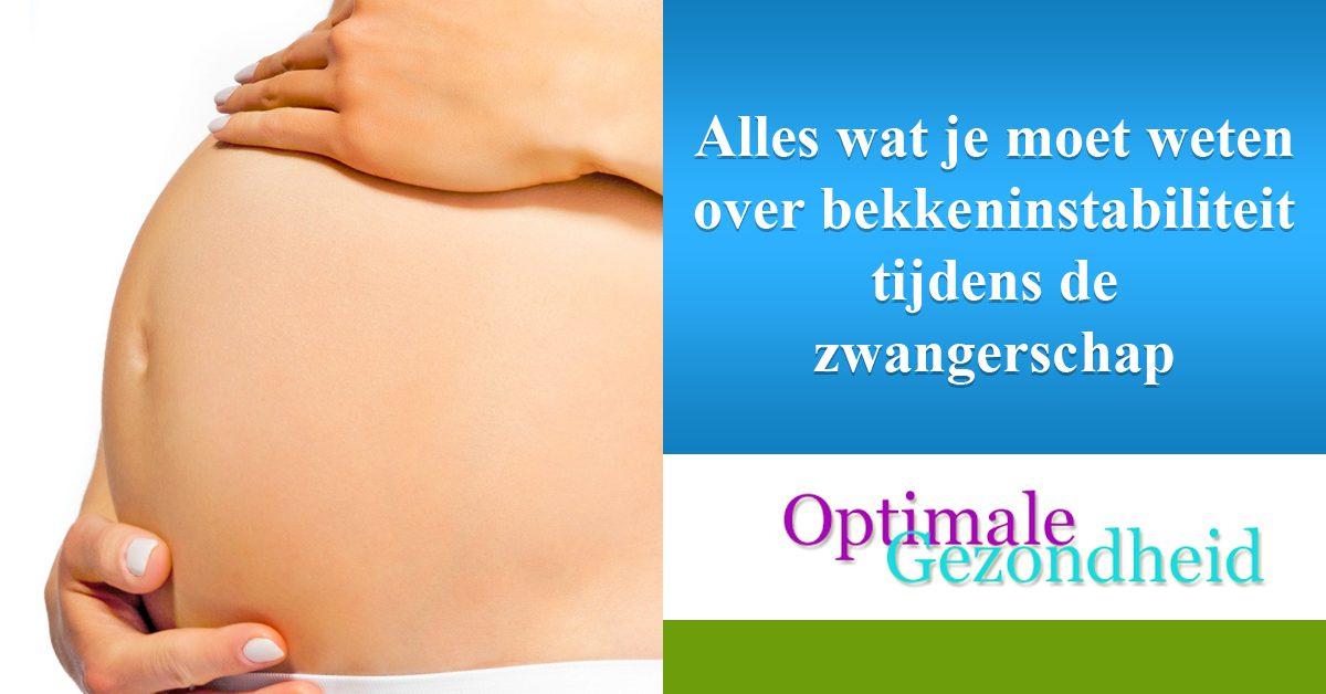 Alles wat je moet weten over bekkeninstabiliteit tijdens de zwangerschap