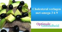 Cholesterol verlagen met omega 3 6 9