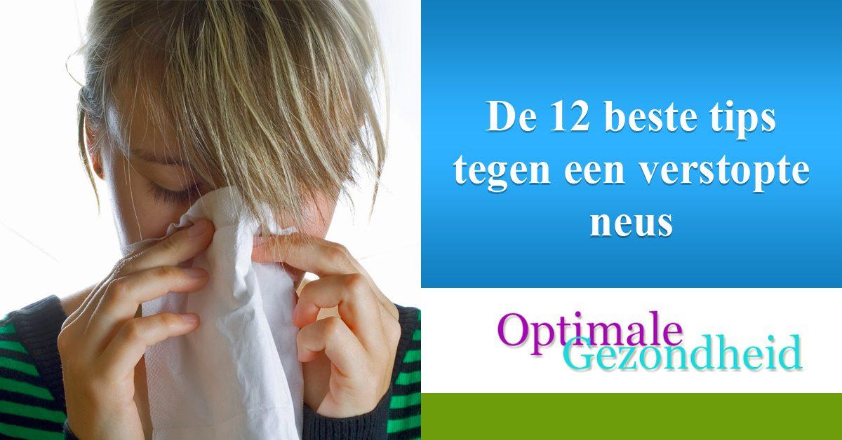 De 12 beste tips tegen een verstopte neus