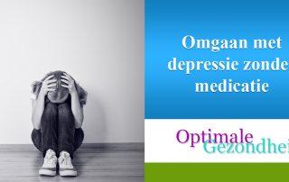 Omgaan met depressie zonder medicatie