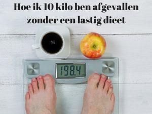 ik wil 10 kilo afvallen