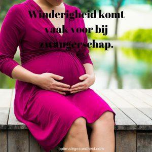 winderigheid zwangerschap
