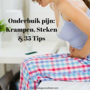Onderbuik Pijn Krampen Steken Plus 35 Tips Optimalegezondheidcom