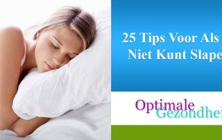 25 Tips Voor Als Je Niet Kunt Slapen
