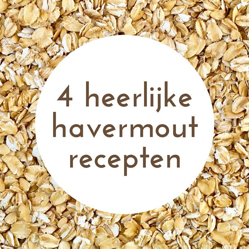 4 havermout recepten