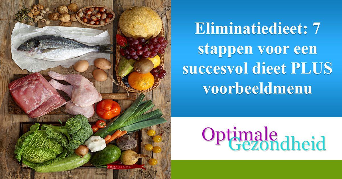 Eliminatiedieet 7 stappen voor een succesvol dieet PLUS voorbeeldmenu