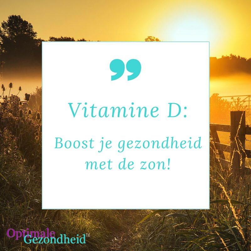 Geef je gezondheid een boost met vitamine D