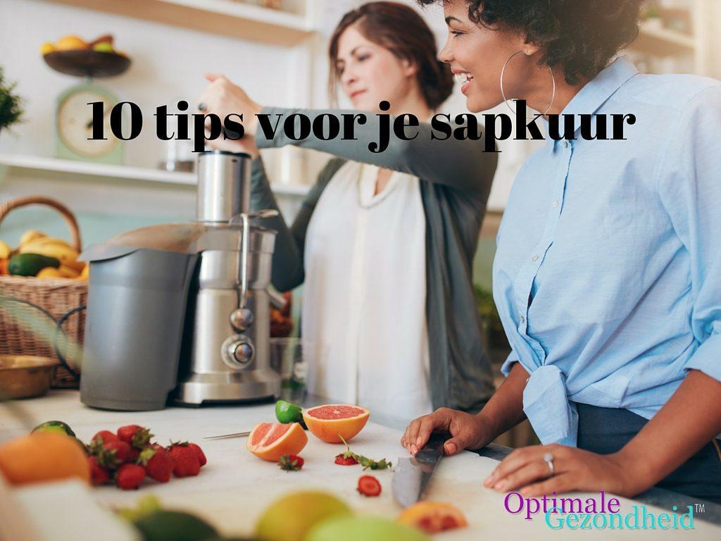 10 tips voor je sapkuur