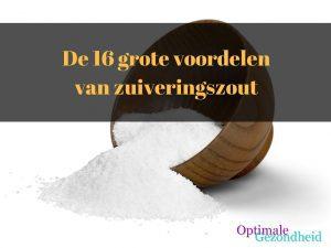 De 16 grote voordelen van zuiveringszout
