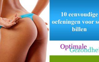 10 eenvoudige oefeningen voor sexy billen
