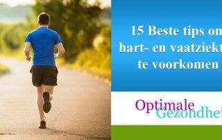 15 Beste tips om hart- en vaatziekten te voorkomen