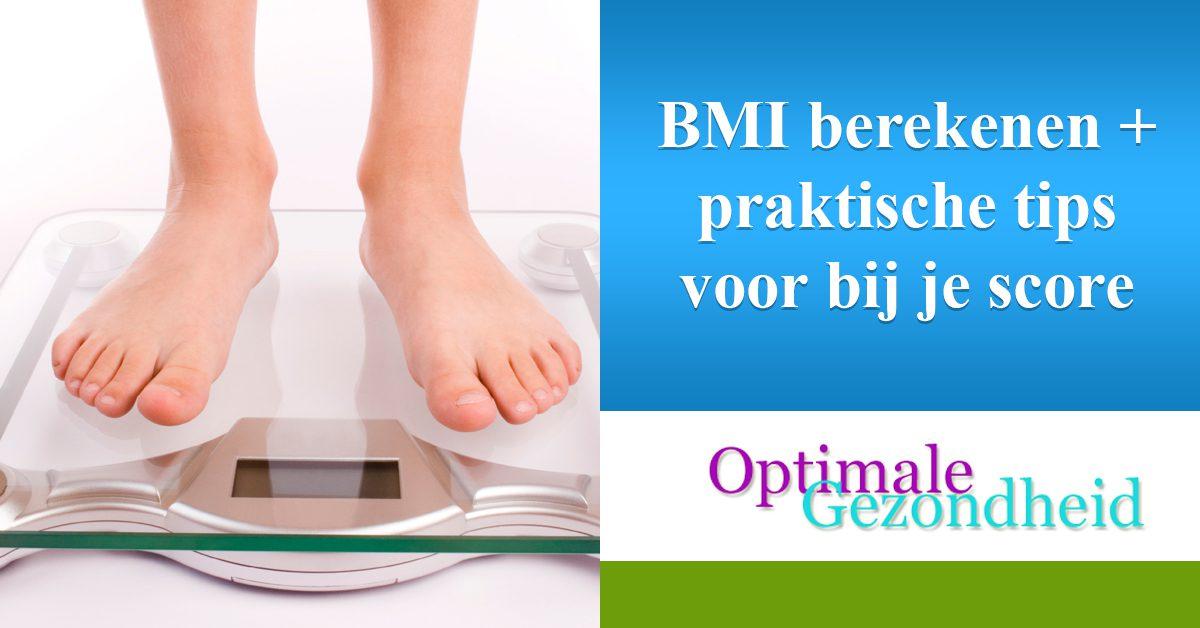 BMI berekenen + praktische tips voor bij je score