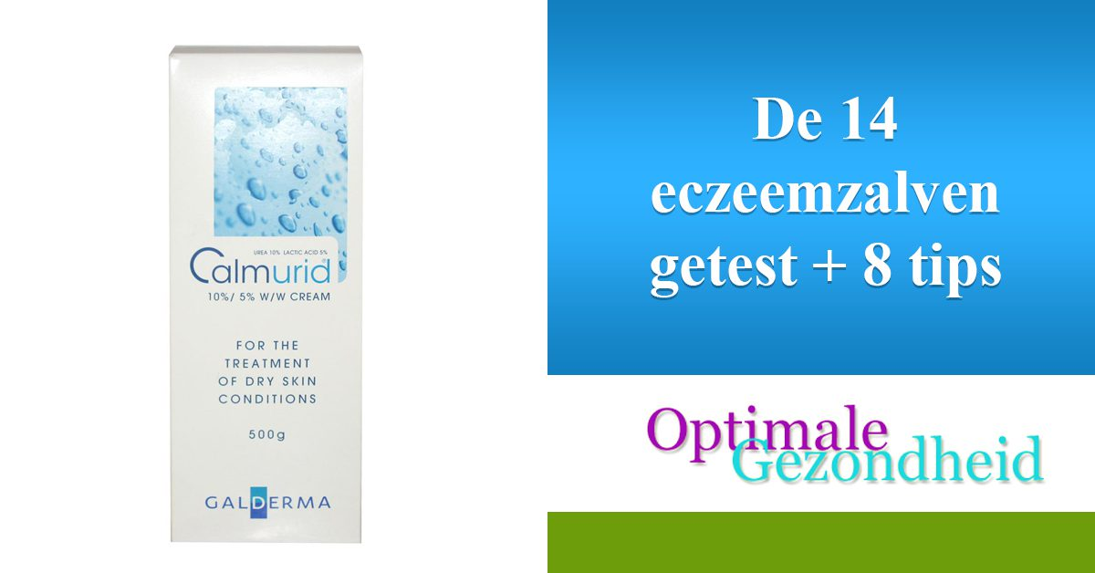 De 14 eczeemzalven getest + 8 tips