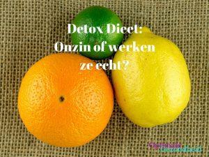 Detox Dieet: Onzin of werken ze echt?