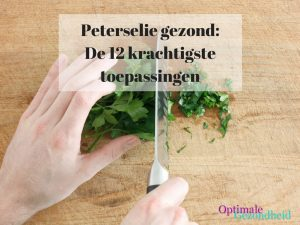 peterselie gezond