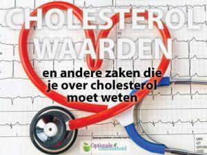 cholesterol-waarden